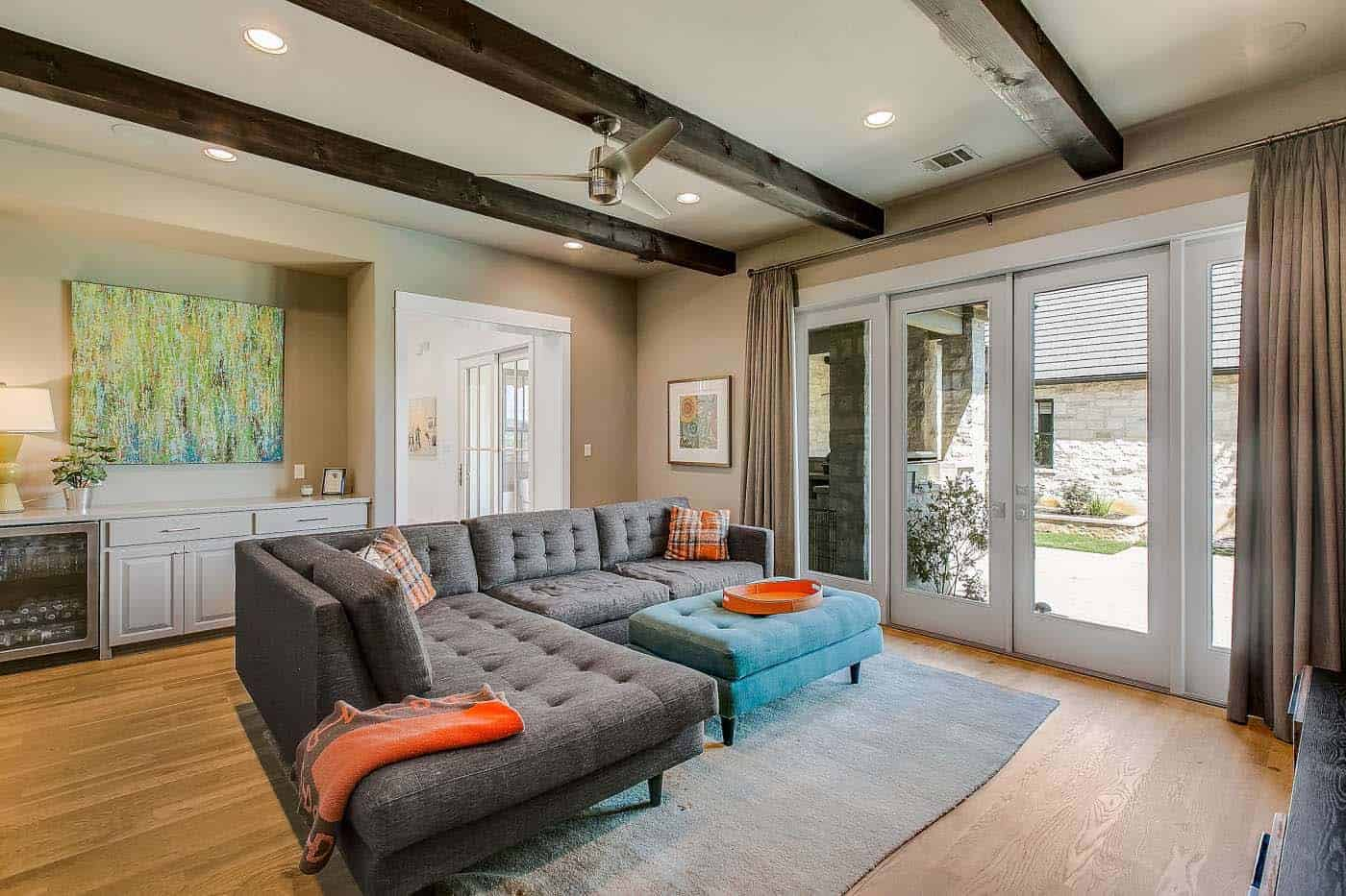 french-country-transitional-family-room