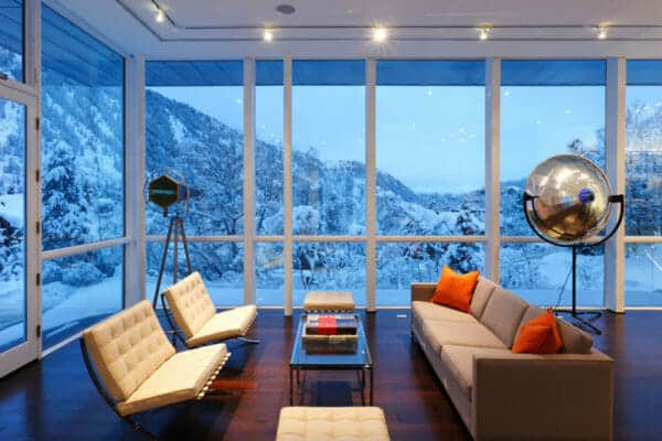 featured posts image for Astounding modern mountain retreat in Aspen surrounded by beauty