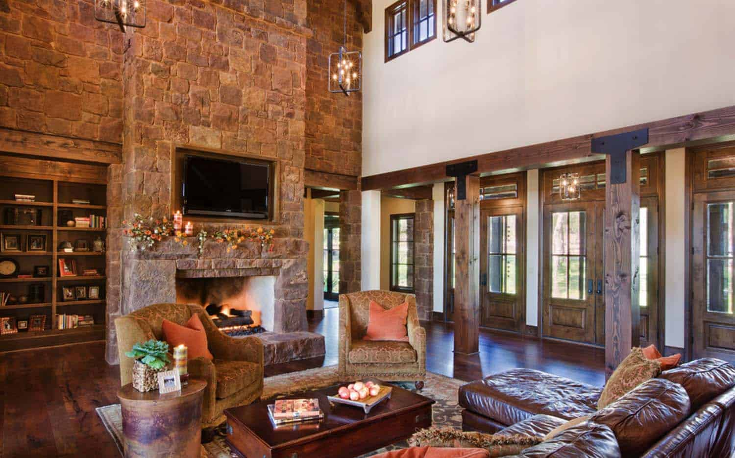 rustic-hill-country-living-room