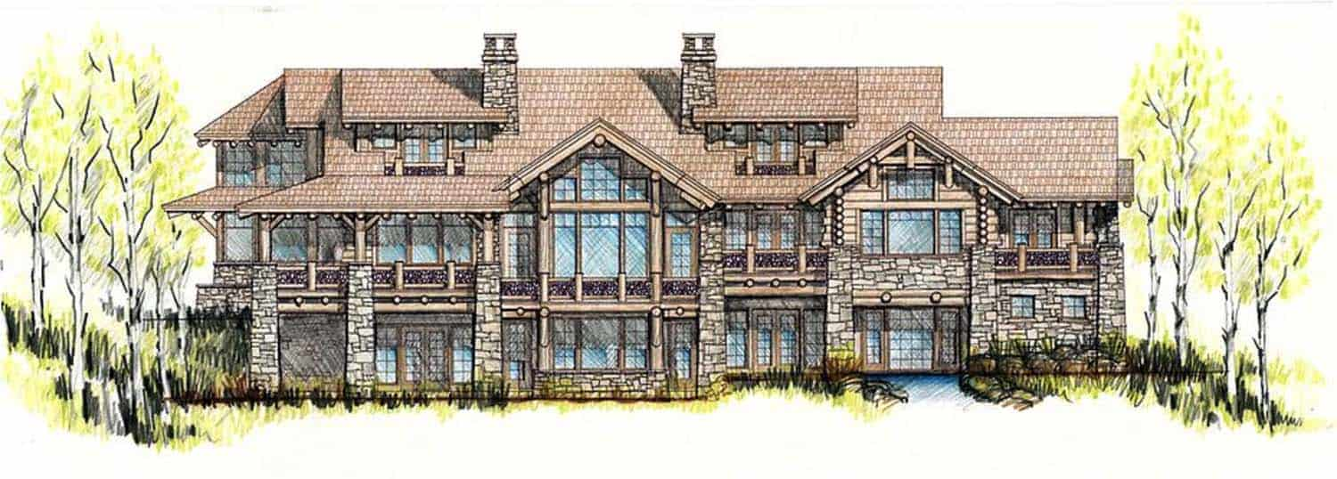 rustic-home-elevation-plan