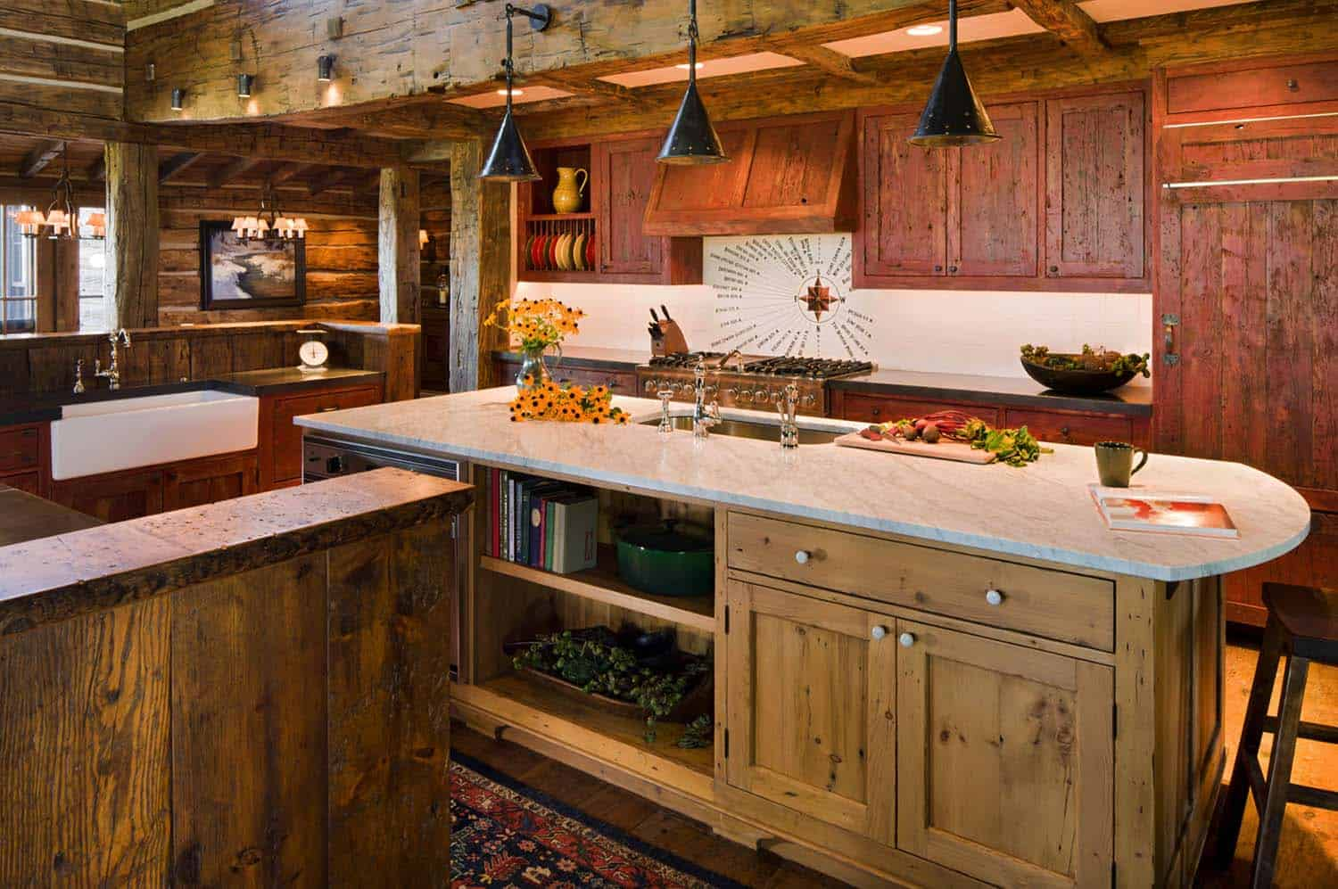 rustic-mountain-home-kitchen