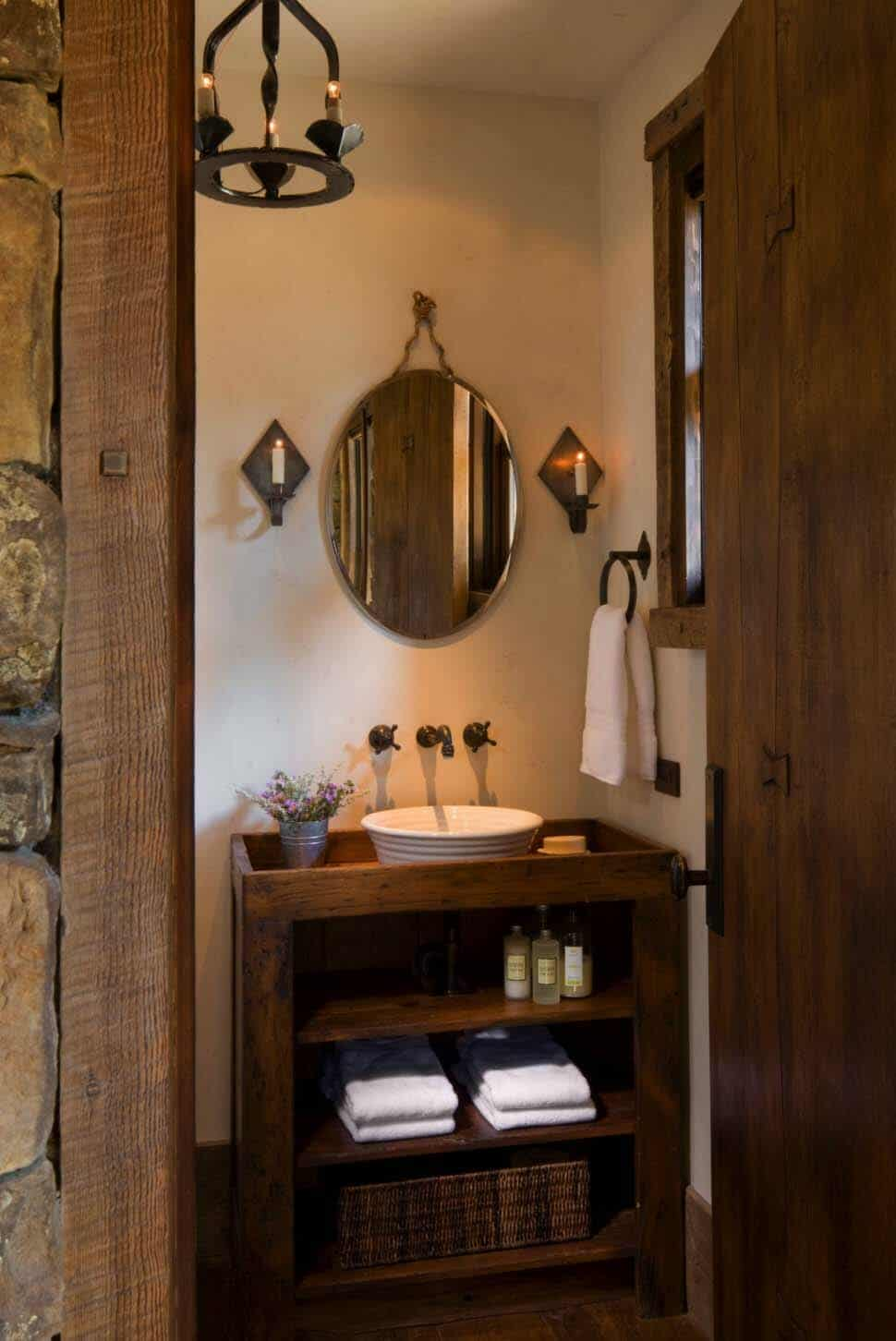 rustic-mountain-home-powder-room
