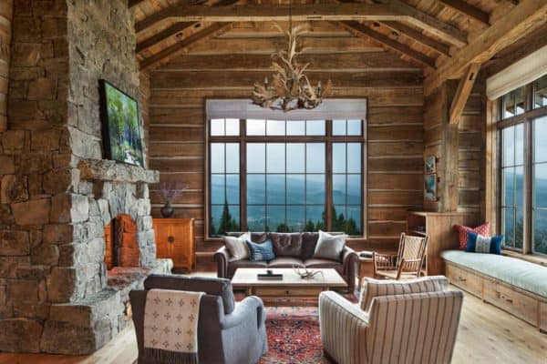 featured posts image for Mountain lodge with a Norwegian influence captures the Rocky Mountains