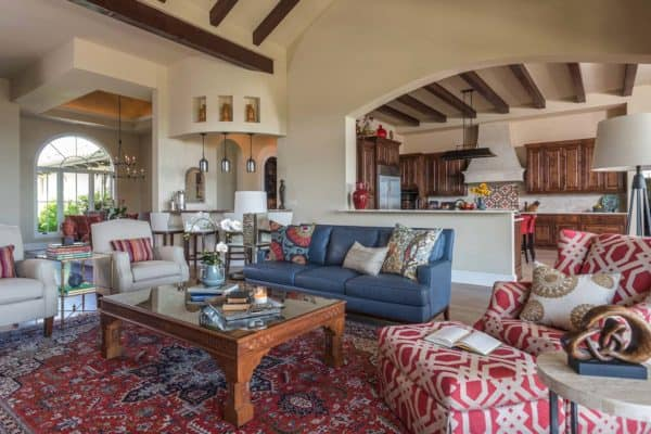 featured posts image for Spanish Colonial meets traditional in a beautifully styled Texas home