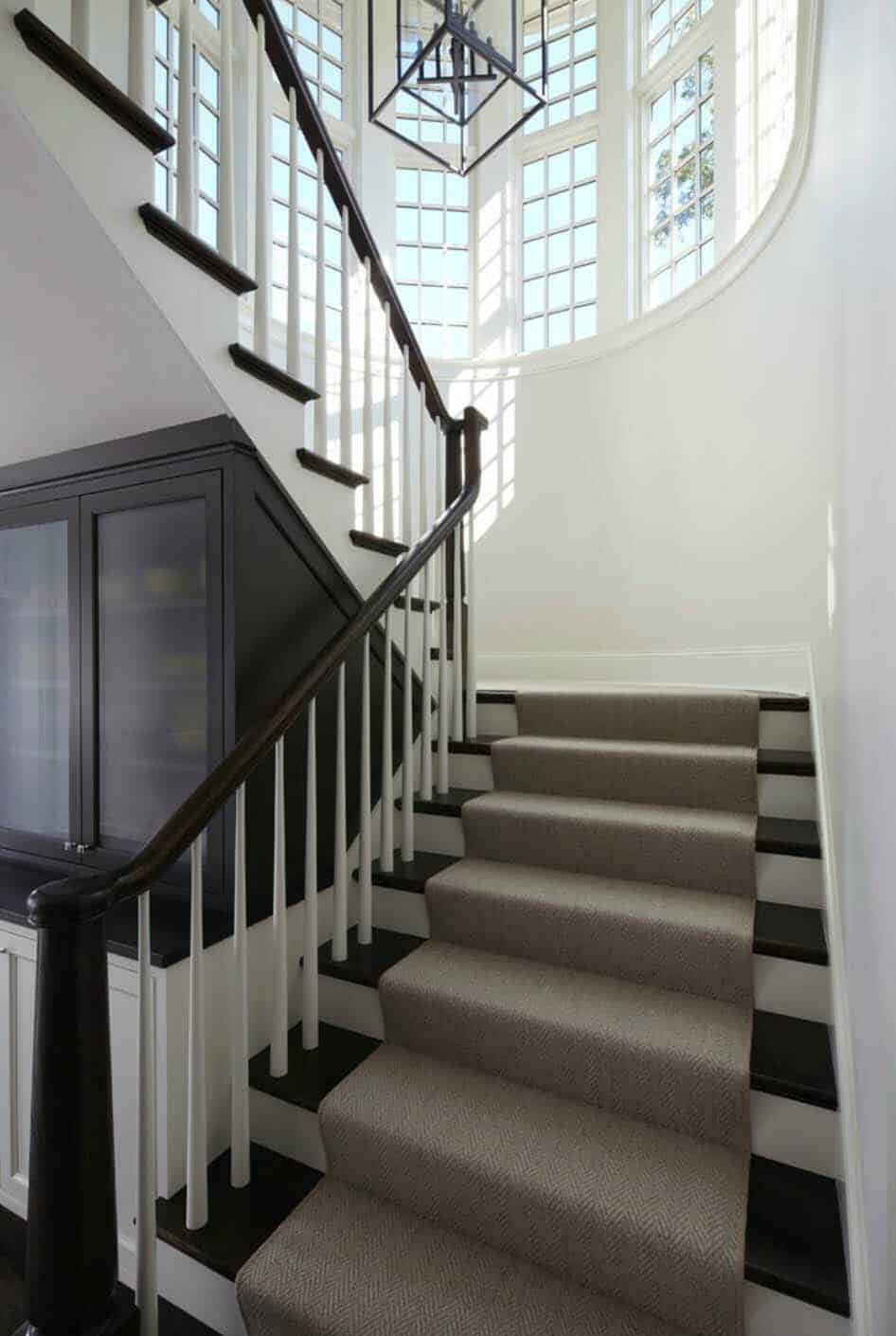 shingle-style-home-staircase