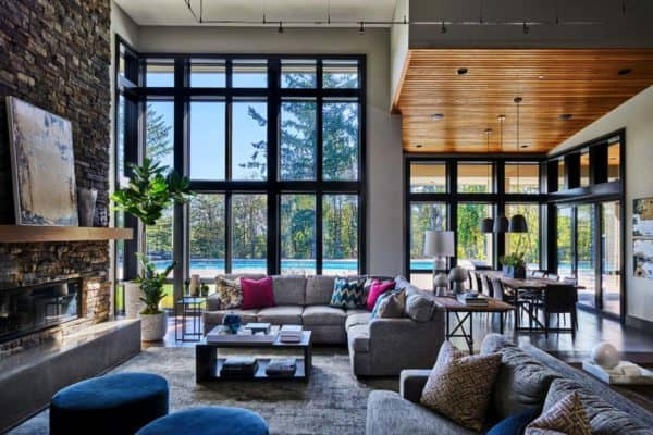 featured posts image for Luminous contemporary family home in Oregon with spa-like atmosphere