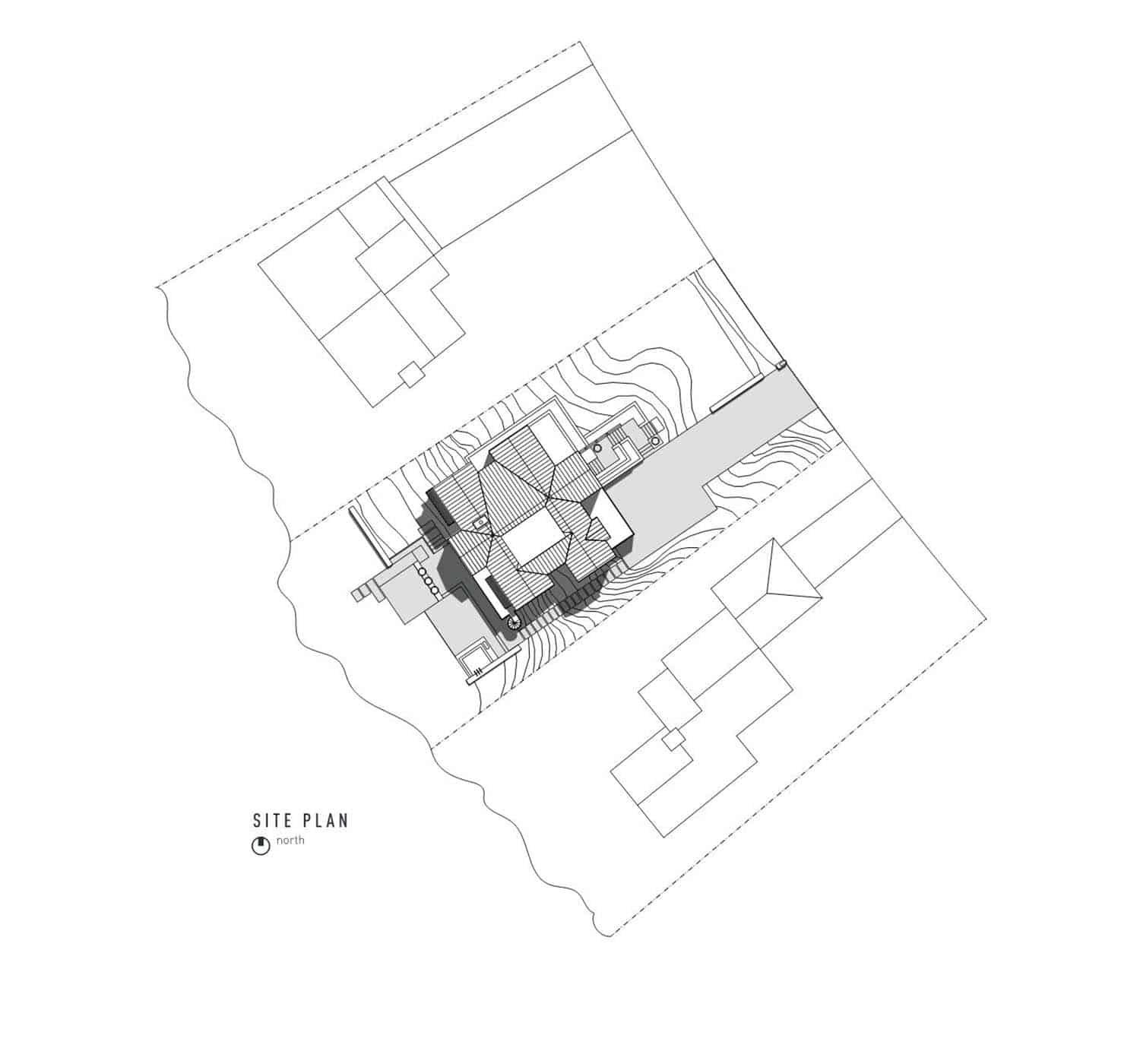 contemporary-lake-house-site-plan