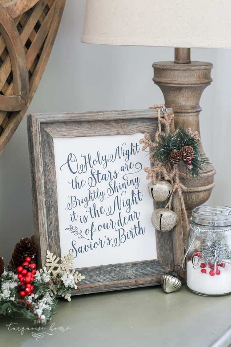farmhouse-inspired-christmas-decor-holy-night-printable