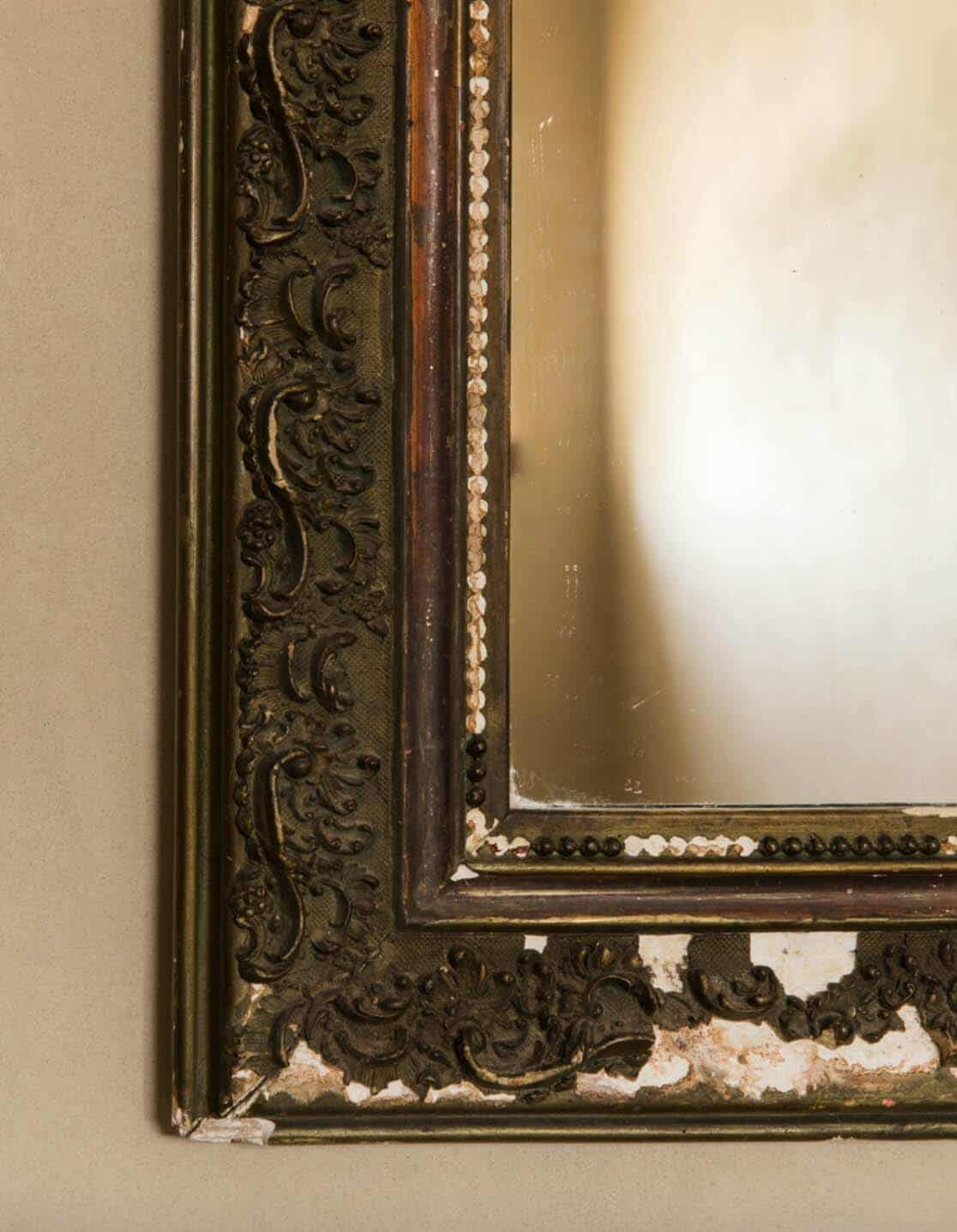 farmhouse-powder-room-mirror-detail