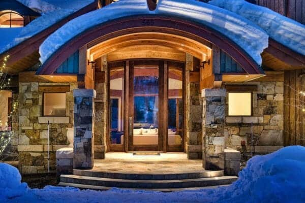 featured posts image for Magnificent mountain retreat nestled on the hillside of Aspen Mountain