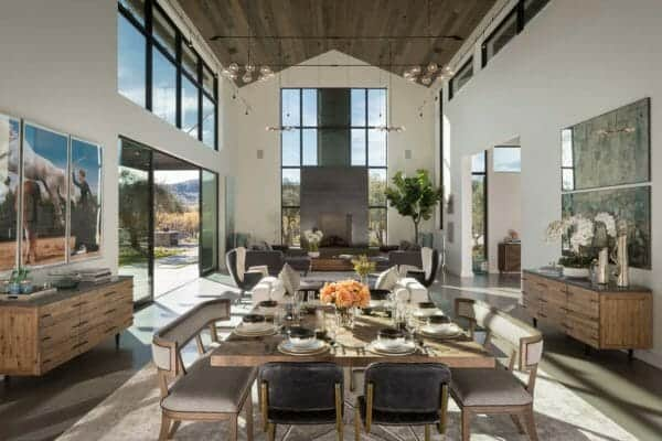 featured posts image for Modern farmhouse-inspired residence in Napa Valley: Art Barn