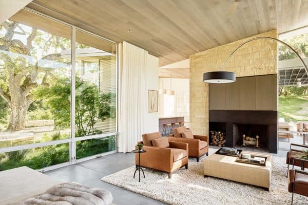 featured posts image for An airy woodland retreat nestled in Carmel's Santa Lucia Preserve