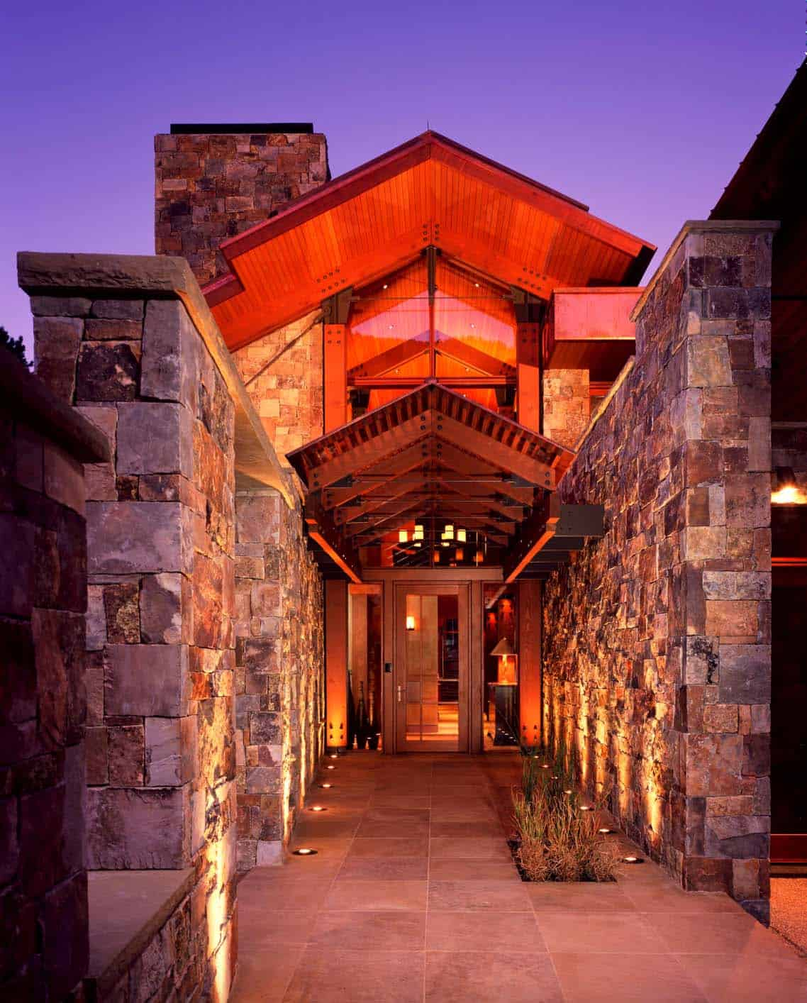 modern-rustic-mountain-home-entry