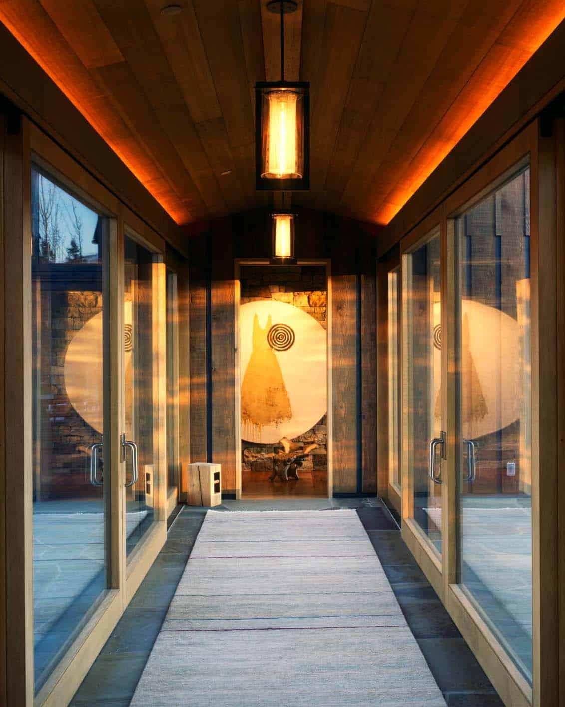 modern-rustic-mountain-home-hall