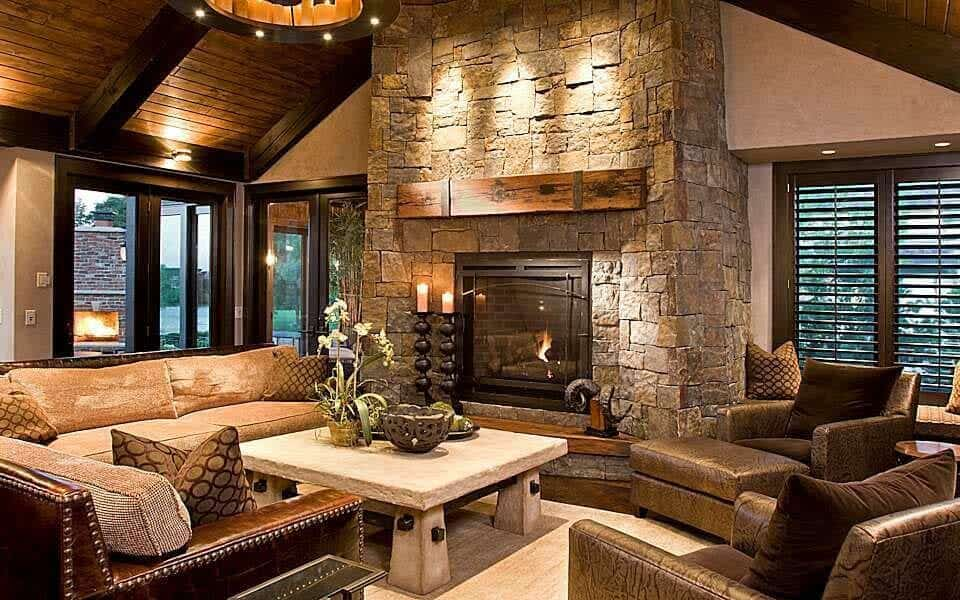 Take A Peek Inside This Stunning Modern Rustic Minnesota Home