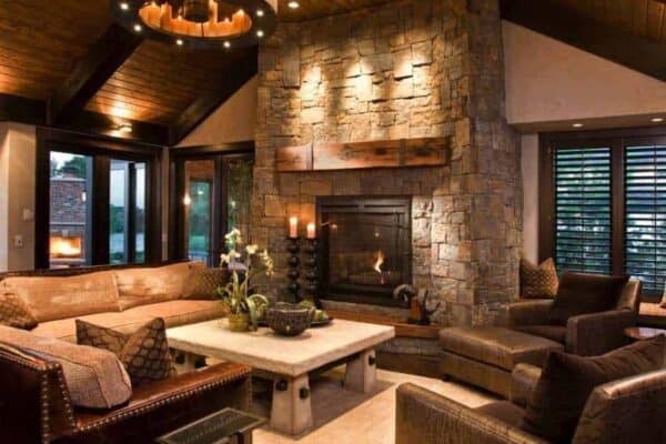 featured posts image for Take a peek inside this stunning modern-rustic Minnesota home
