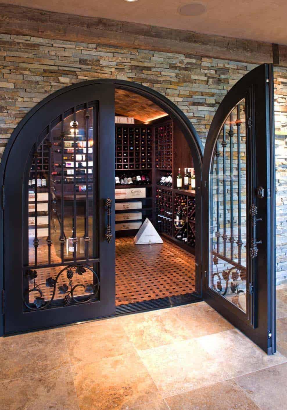 modern-rustic-wine-cellar