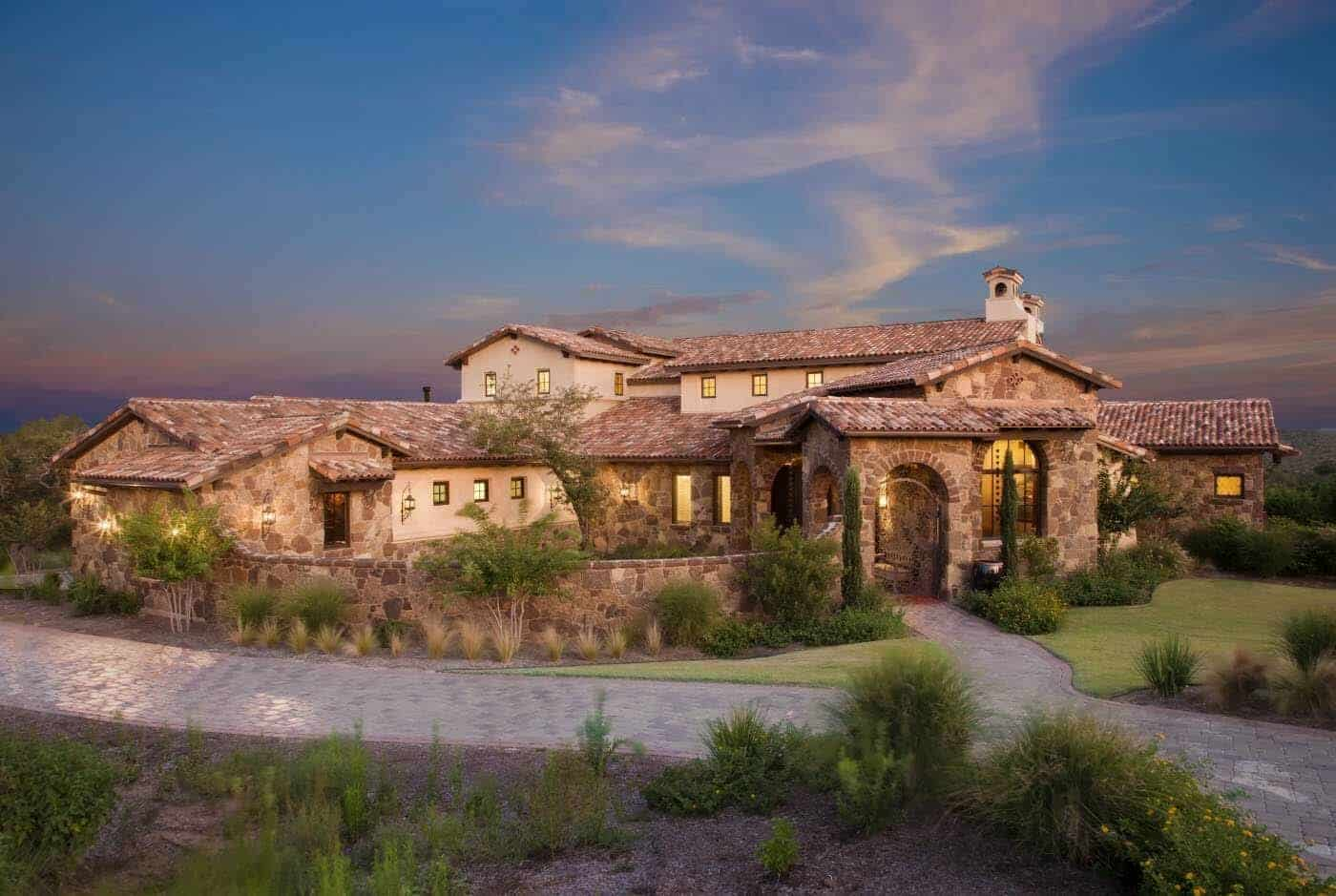 Old World Hacienda Offers Timeless Design Features In