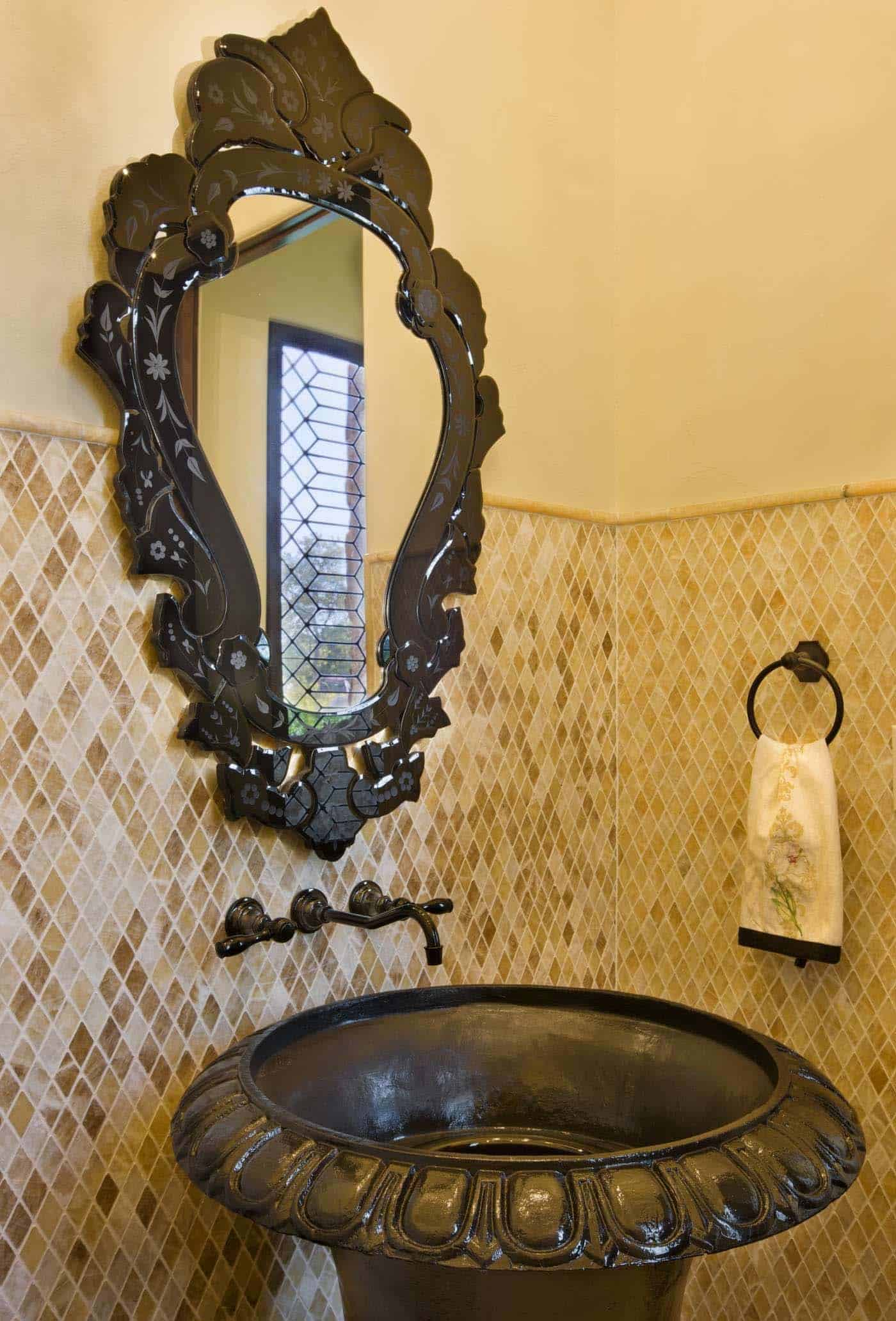old-world-hacienda-mediterranean-powder-room