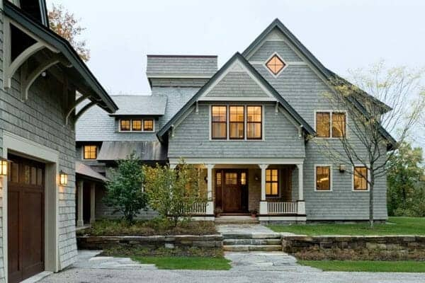 featured posts image for Home Tour: Shingle-style home in New Hampshire with inviting touches