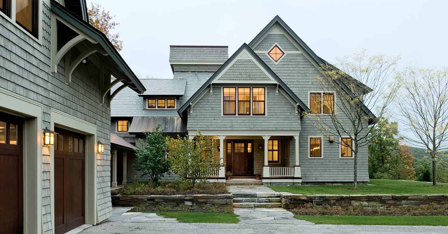Home Tour Shingle Style Home In New Hampshire With