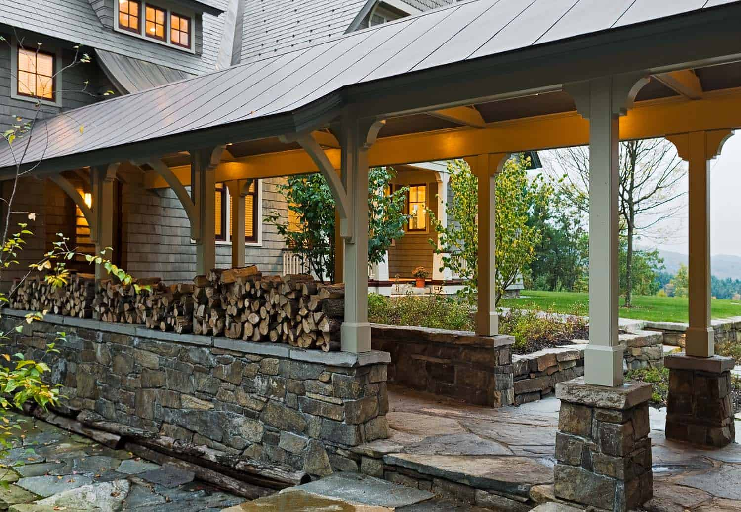 shingle-style-home-covered-entry