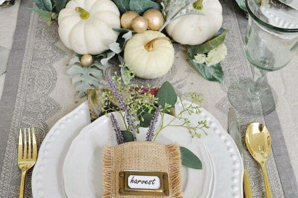 featured posts image for 40 Amazing Place Setting Ideas To Elevate Your Thanksgiving Table