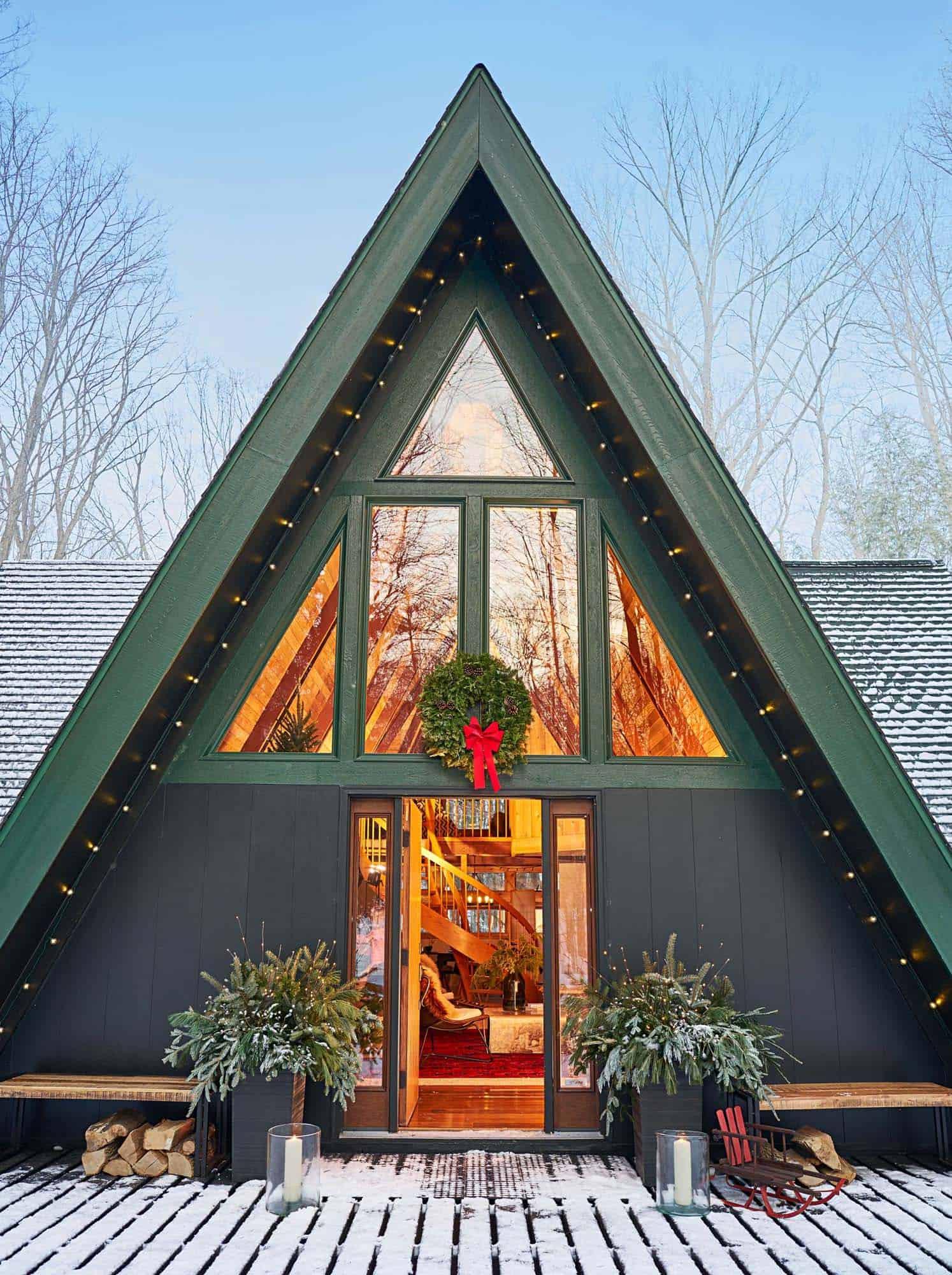 a-frame-cabin-ski-getaway-exterior
