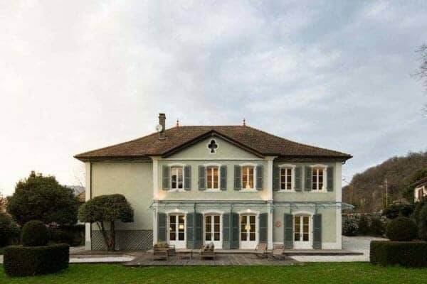 featured posts image for Maison Bambou: A charming 19th century villa nestled in the French Alps