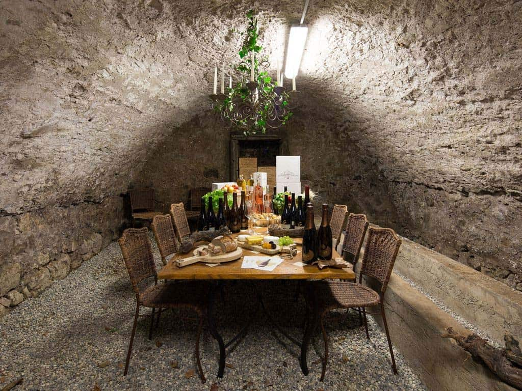 maison-bambou-french-villa-wine-cellar