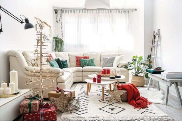 featured posts image for Decked out for the holidays: A flat in Madrid with Nordic styled interiors