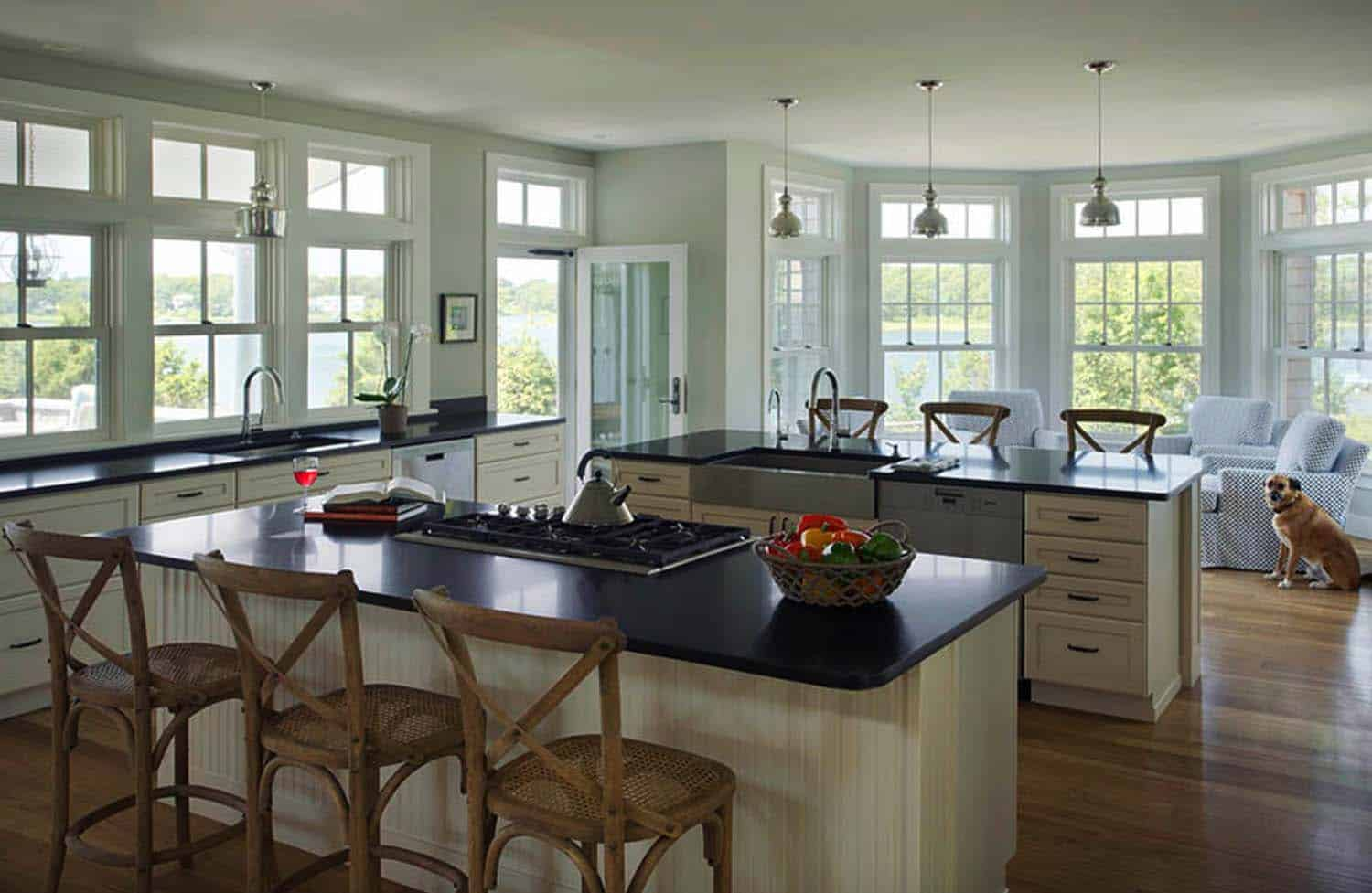 contemporary-cape-cod-kitchen