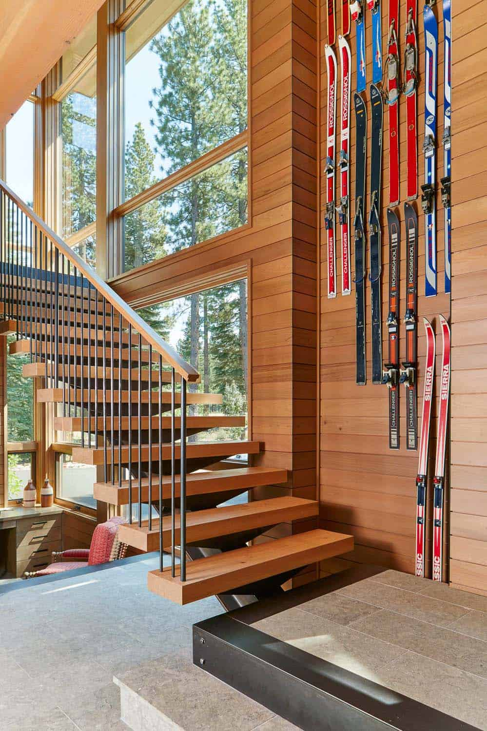 contemporary-mountain-home-staircase