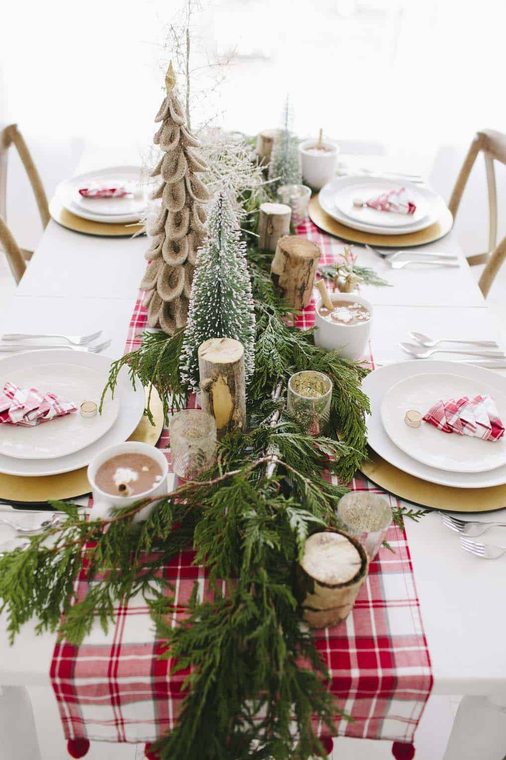 gorgeous-christmas table-centerpiece