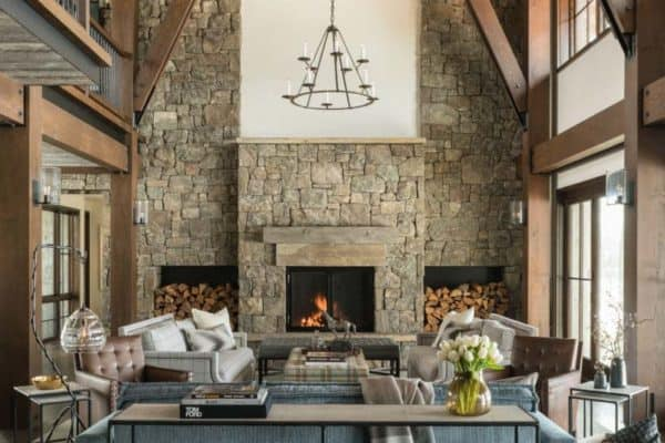 featured posts image for Mountain modern luxury home inspired by gorgeous Wyoming landscape