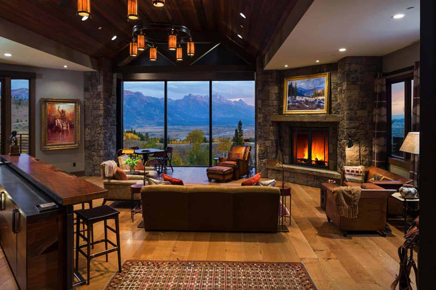 rustic-home-living-room