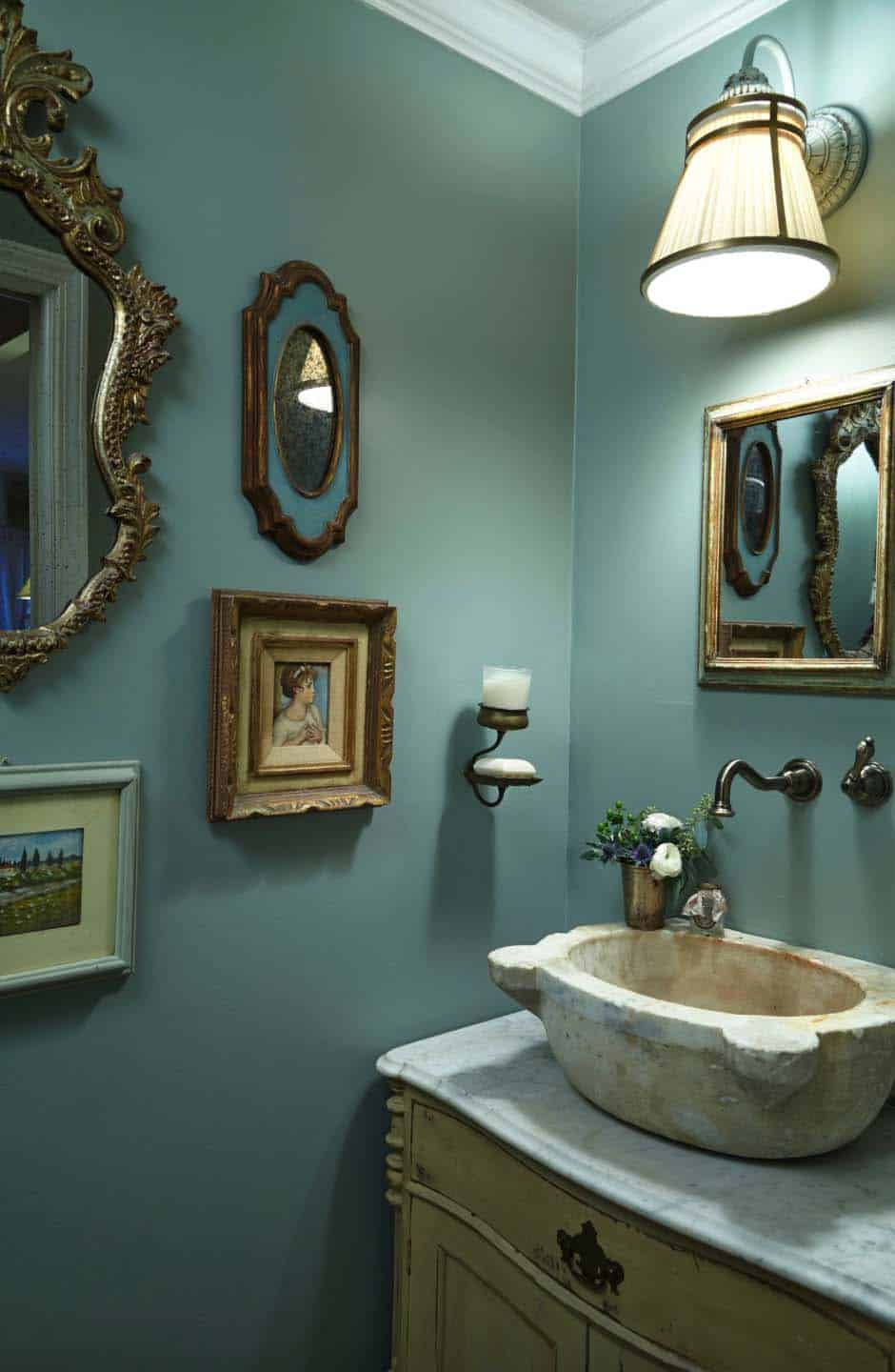 tuscan-farmhouse-traditional-powder-room