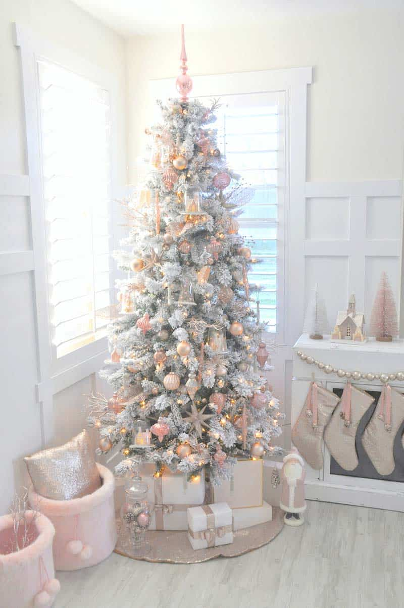 White Christmas Tree Design.25 Absolutely Stunning White Christmas Tree Decorating Ideas