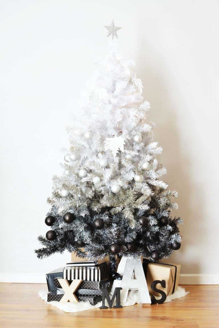 diy-ombre-christmas-tree