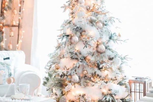 featured posts image for 25+ Absolutely Stunning White Christmas Tree Decorating Ideas