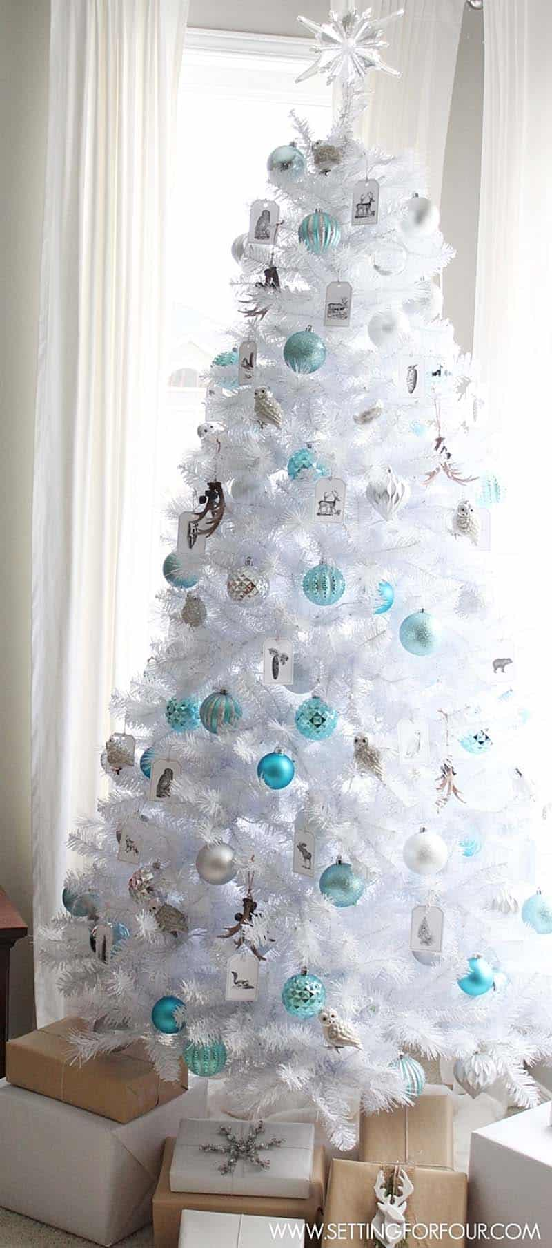 glam-white-christmas-tree