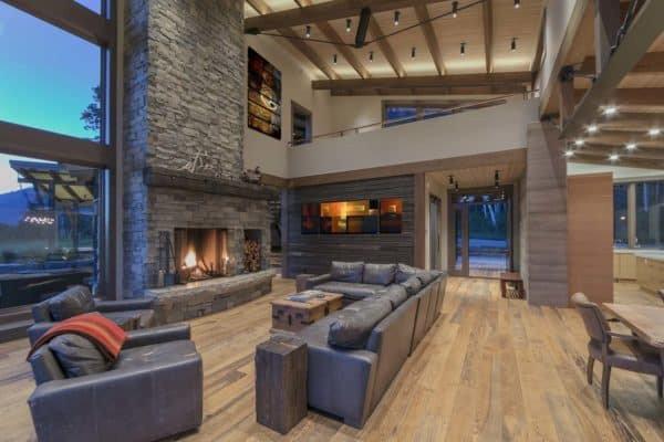 featured posts image for Gorgeous contemporary mountain cabin nestled in the Canadian Rockies