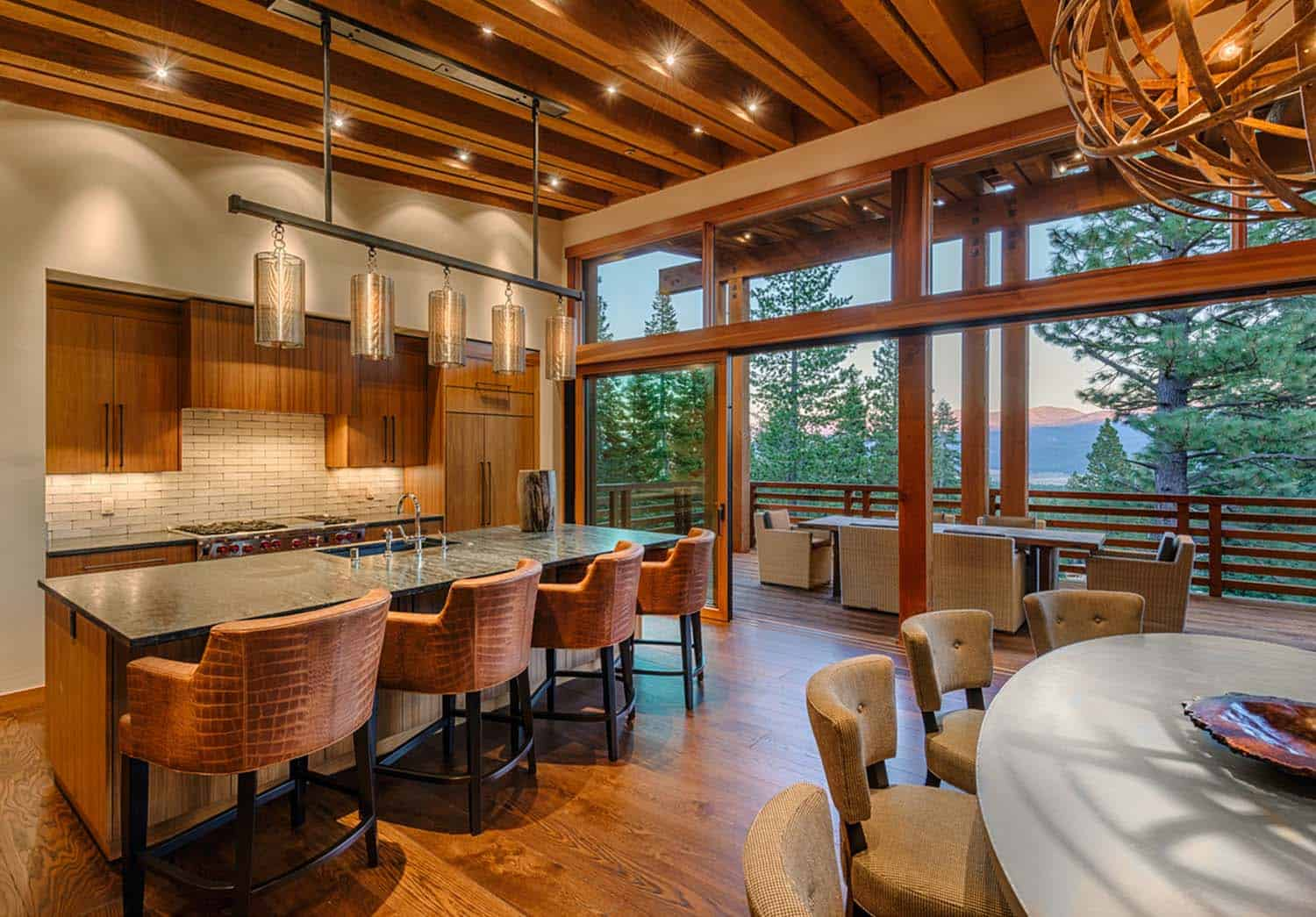 kitchen-contemporary-dining-room