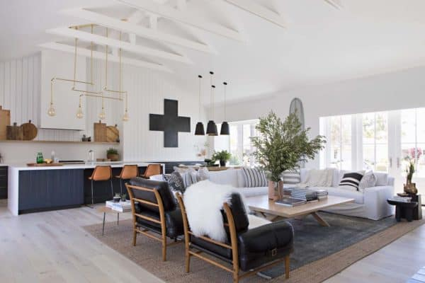 featured posts image for Inside a Newport Beach farmhouse with a cool California vibe