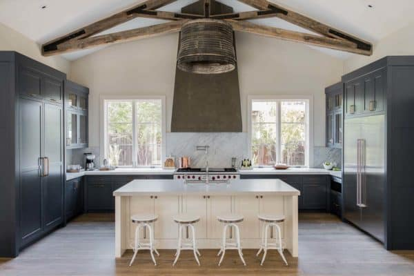 featured posts image for Delightful contemporary farmhouse takes shape in California wine country