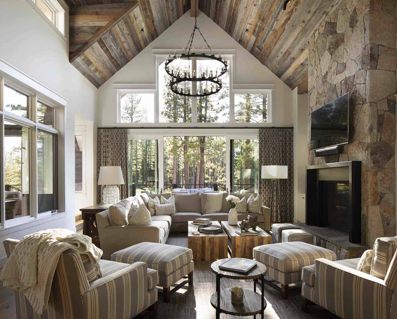 mountain-farmhouse-style-living-room