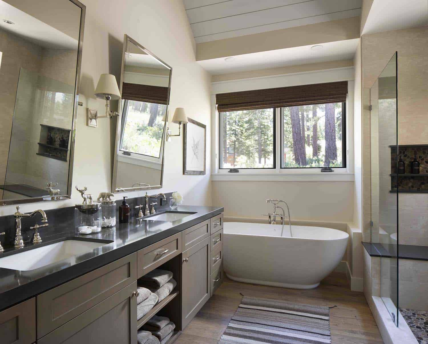 mountain-farmhouse-style-master-bathroom