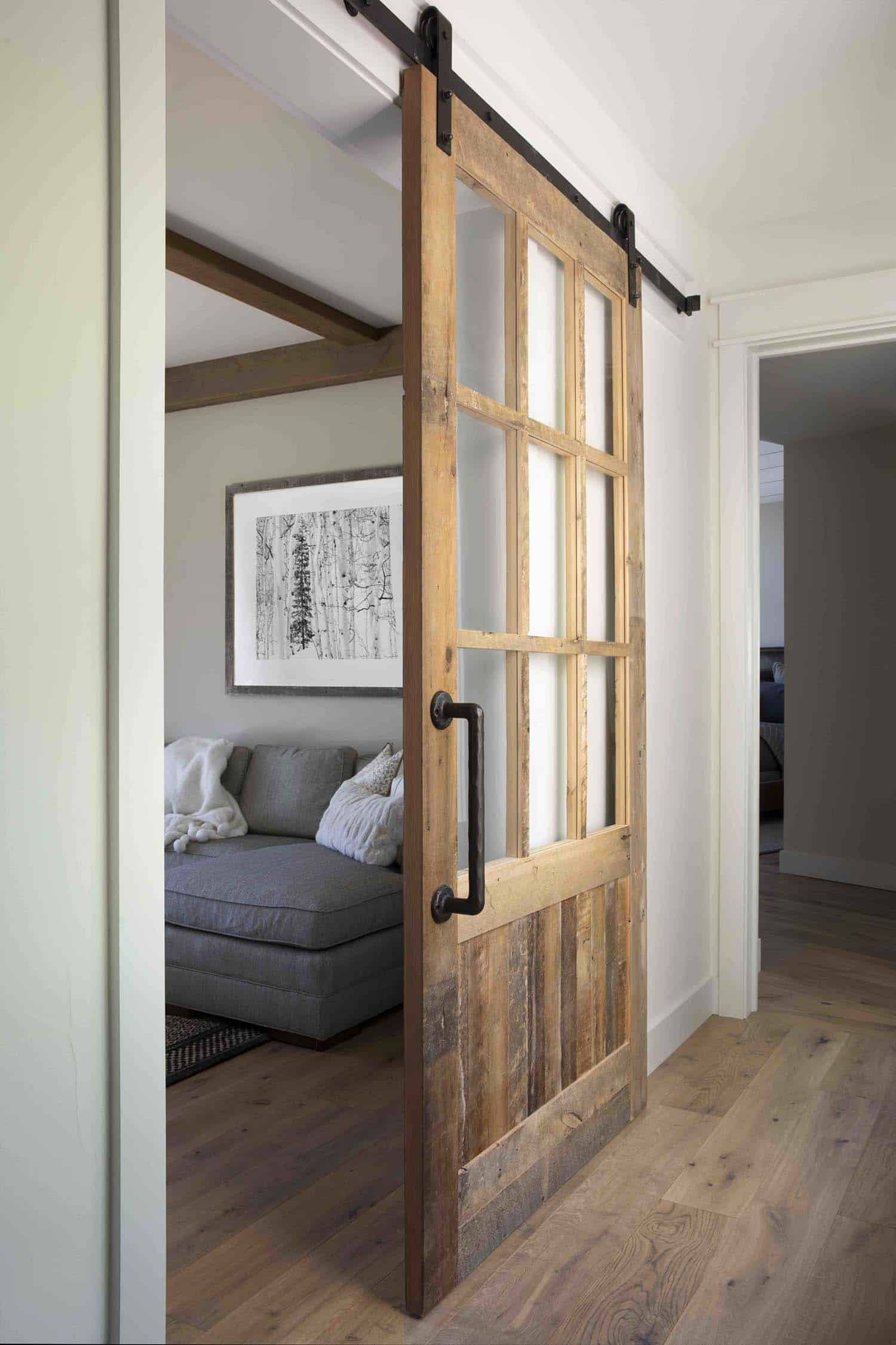 mountain-farmhouse-style-sliding-barn-door