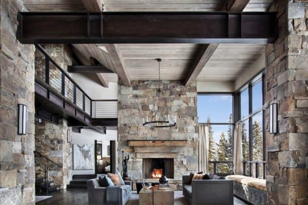 featured posts image for Incredible mountain modern dwelling offers slope-side living in Montana