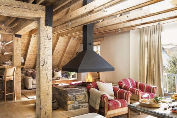 featured posts image for Charming rustic cabin for winter getaways in the Pyrenees mountains